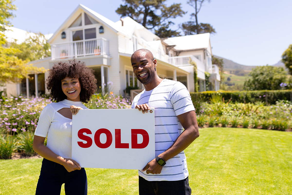 Couple selling home